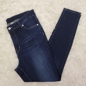 H&M Super High Waist Skinny Jeans